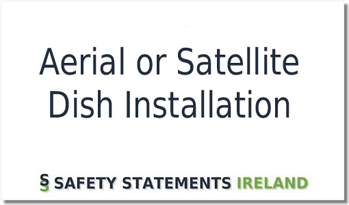 Aerial And Satellite Dish Installer Safety Statement Template