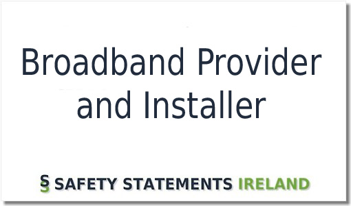 Broadband Provider And Installer Safety Statement Template