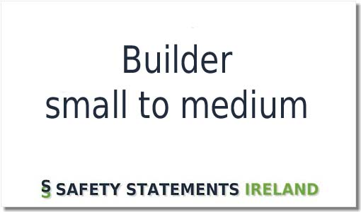 Building Contractor Safety Statement