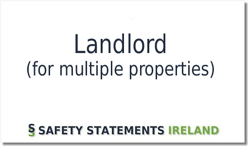 Landlord Safety Statement Template Download Now