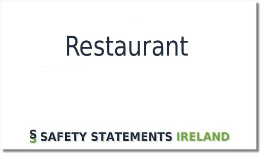 Perfect Safety Statement Template For A Restaurant Download Now