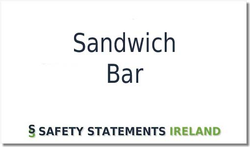 Perfect Safety Statement template for a Sandwich Bar or Cafe – Safety Statement Template