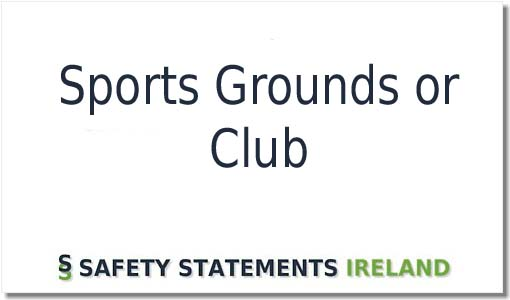 Sports Grounds Or Club Safety Statement Template Download Now