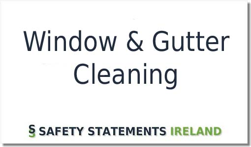 Window And Gutter Cleaning Safety Statement Template Download Now
