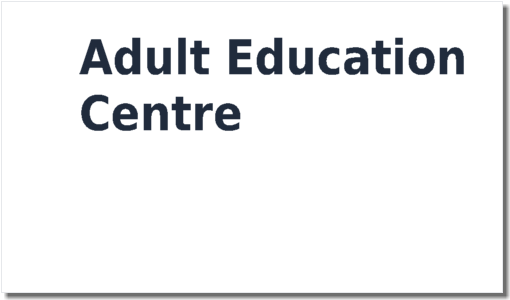Adult Education Centre Safety Statement