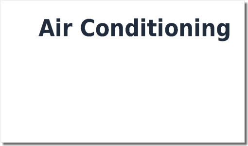 Air Conditioning Safety Statement